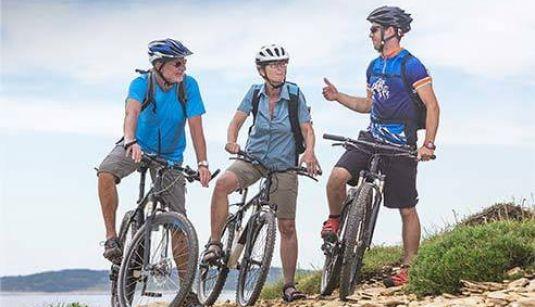 bicicletta muscolare