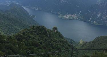 Al Monte Stino dal Lago d'Idro