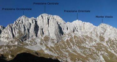 Al Monte Visolo dal Passo della Presolana